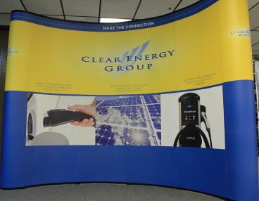 trade show display denver, CO clear energy