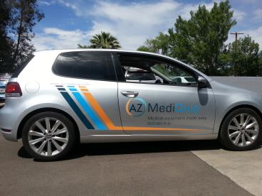 Vehicle Graphics for smaller vehicle