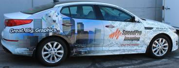 vehicle wrap denver, CO speedpro imaging