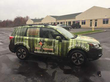 Vehicle Wrap - Big Frog Custom T-Shirts