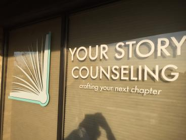Your Story Counseling- Window Graphics