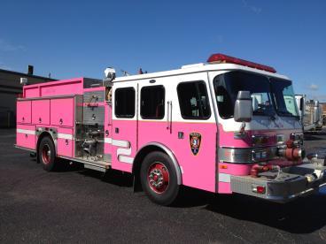 Pink Firetruck