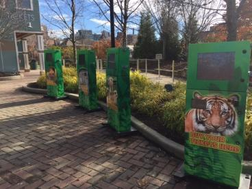 Cincinnati Zoo Kiosks