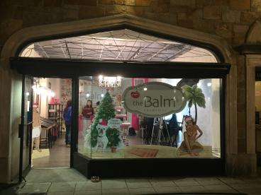 The Balm store signage