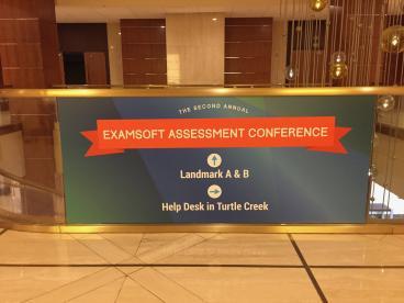 Event Graphics, Corporate Branding, ExamSoft, Dallas, TX