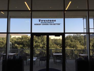 Event Window Graphics, Corporate Branding, Firestone, Dallas, TX