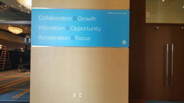 Event Graphics, Corporate Branding, AT&T Partner Summit, Dallas, TX