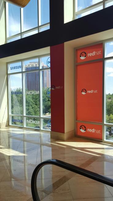Event Window Graphics, Corporate Branding, Dallas, TX