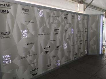 Event Graphics, Step and Repeat, Backdrop, Two x Two, Dallas, TX