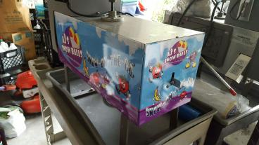 Snowcone Machine / Equipment Wrap