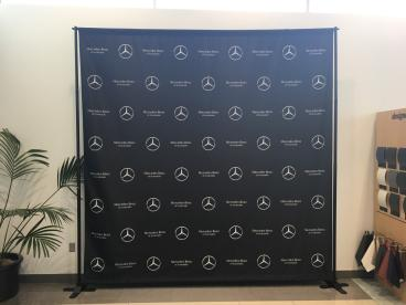 Fabric Printed Step and Repeat