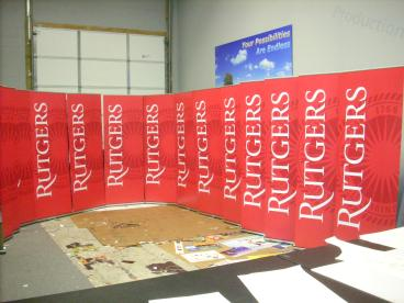 Portable Banner Stand