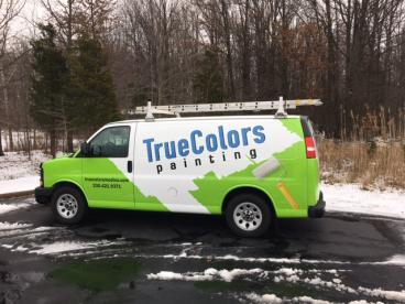 True Colors Painting - Vehicle Wrap-Cleveland, OH