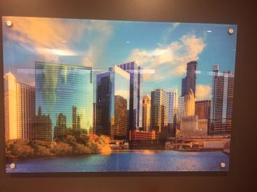 Acrylic Wall Art - Chicago Skyline