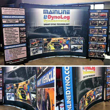 Mainline Dynolog - Trade Show Graphics