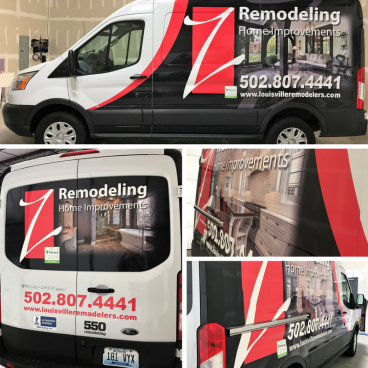Z Remodeling Vehicle Wrap