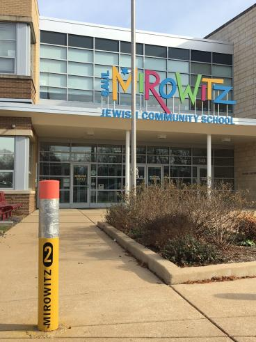 Mirowitz Jewish Community School. Those posts though!