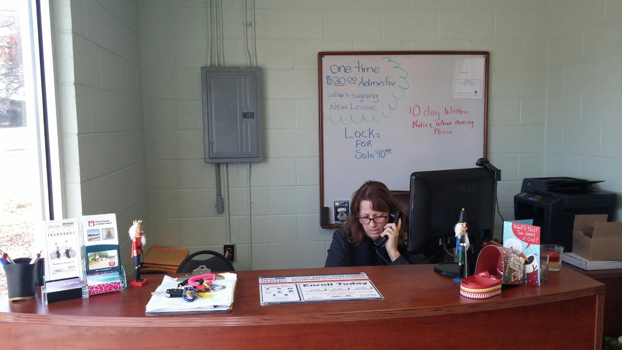Our GM Sheila Taking Care of Business!