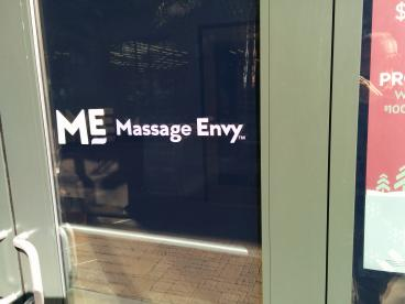 Massage Envy door logo
