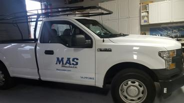 MAS Metals decal San Leandro