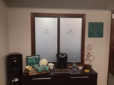 Etched Window Vinyl - Used for Privacy