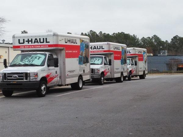 We rent U-Haul trucks.