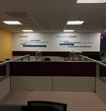 Wall Graphics Build Teams