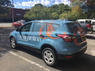 Car Wrap Completed in Charlotte