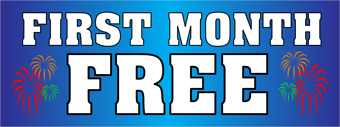 First Month Free !!!