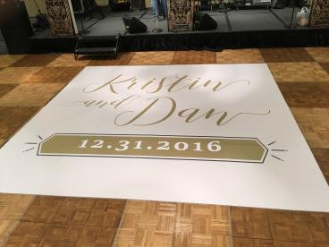 Dance floor graphics