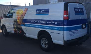 Rexel fleet wrap denver, CO