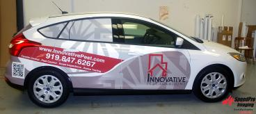 New Graphics on Ford Fiestas for Innovative Pest Solutions