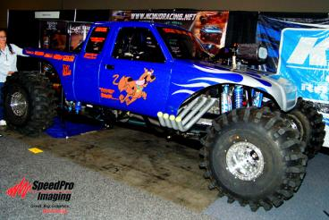 Scooby Doo Racing gets Graphics on their Truck