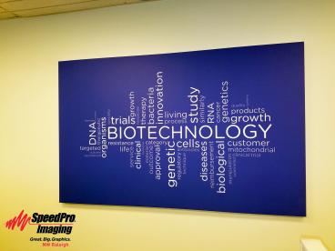 Word Art Canvas Wrap for Premier Research Biotechnology