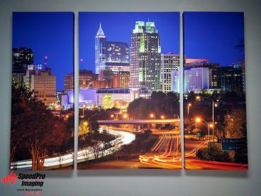 Split Photo Canvas Print for Speedpro RDU