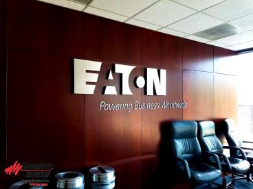Dimensional Letters for Eaton