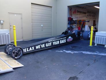 Dragster Wrap
