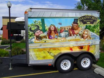 Paradise Creek Brewery Trailer