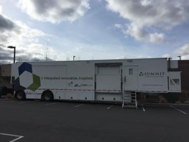 Summit Cancer Center trailer