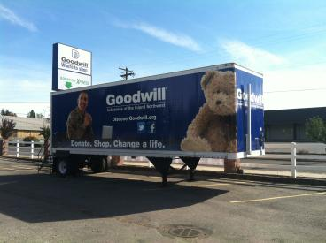 Goodwill Donations Trailer