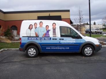 Inland Imaging delivery van