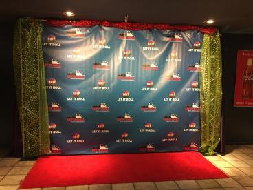 Step and Repeat Banner and Frame - 2017 Edition