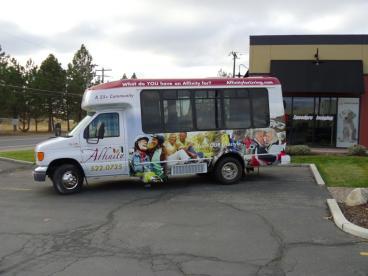 Affinity Shuttle Van
