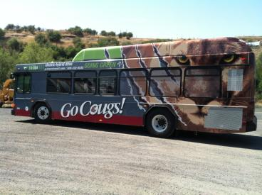 Go Cougs Hybrid Bus