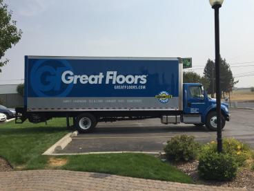Great Floors Box Truck