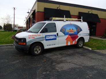 Coldwell Banker Handyman Van