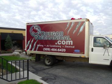 Truck Side banner Cougar Mechanical