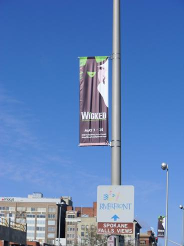 Wicked Street Pole Banner