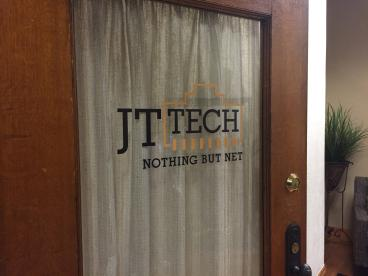 Business door graphics