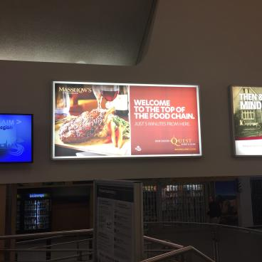 Backlighted Advertising - Northern Quest Casino & Resort